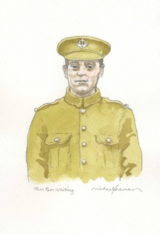 Michael Foreman illustration of Robert Whiting   City of Westminster Archives