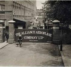 The Alliance Aeroplane Company Ltd, Cambridge Grove, Hammersmith.    Hammersmith and Fulham Archives