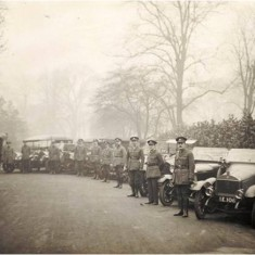 Members of the Voluntary Aid Detachments Ambulance Corps at Ravenscourt Park.    Hammersmith and Fulham Archives