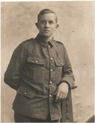 William Eve as a Private, 1914 | National Army Museum